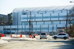 Costruzione del parco olimpico in Gangneung Fotografia Stock Libera da Diritti