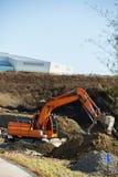 Costruzione del parco olimpico in Gangneung Fotografia Stock