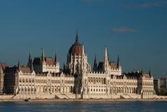 Costruzione del Parlamento, Budapest Immagini Stock Libere da Diritti