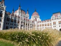 Costruzione del Parlamento, Budapest, Ungheria Immagini Stock Libere da Diritti