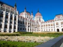 Costruzione del Parlamento, Budapest, Ungheria Immagine Stock