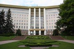 Costruzione del Parlamento a Chisinau, Moldavia Immagine Stock