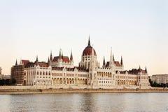 Costruzione del Parlamento di Budapest Fotografie Stock Libere da Diritti