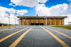 Costruzione del Parlamento di Israele Fotografie Stock