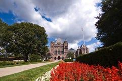 Costruzione del Parlamento di Ontario Fotografie Stock