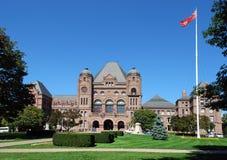 Costruzione del Parlamento di Ontario Immagini Stock
