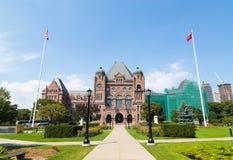 Costruzione del Parlamento di Ontario Fotografie Stock Libere da Diritti