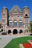 Costruzione del Parlamento di Ontario, blocco centrale Fotografia Stock