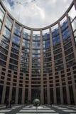 Costruzione del Parlamento di UE immagine stock