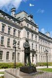 Costruzione del Parlamento a Quebec City, Canada immagine stock libera da diritti