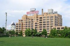 Costruzione del posto di guardia - Brooklyn, New York fotografia stock