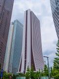 Costruzione del quartiere generale di Sompo Japan Nippon Koa Credit Corporation a Tokyo - TOKYO, GIAPPONE - 17 giugno 2018 Immagine Stock Libera da Diritti