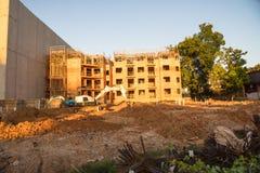 Costruzione del sito dell'appartamento a Huntsville, il Texas, U.S.A. Fotografia Stock