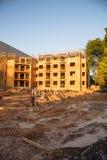 Costruzione del sito dell'appartamento a Huntsville, il Texas, U.S.A. Fotografie Stock Libere da Diritti