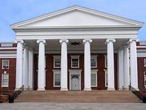 Costruzione del sud dell'istituto universitario di stile immagine stock