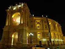 Costruzione del teatro di opera a Odessa Ucraina Fotografia Stock Libera da Diritti