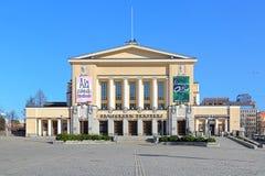 Costruzione del teatro di Tampere, Finlandia Fotografie Stock Libere da Diritti