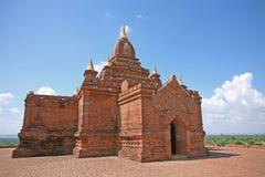 Costruzione del tempio in Bagan fotografie stock
