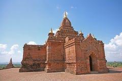 Costruzione del tempio in Bagan fotografia stock libera da diritti
