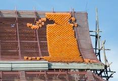 Costruzione del tempio del tetto Fotografia Stock Libera da Diritti