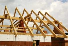 Costruzione del tetto Fotografie Stock