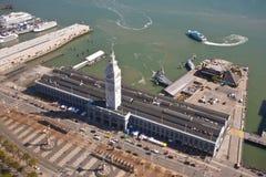 Costruzione del traghetto, San Francisco Fotografia Stock Libera da Diritti