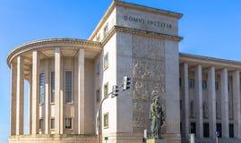Costruzione del tribunale di Oporto Fotografia Stock