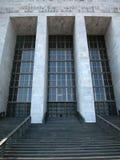 Costruzione del tribunale a Milano, Italia Immagini Stock