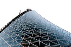 Costruzione del vetro e del metallo Immagini Stock Libere da Diritti