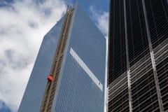 Costruzione del World Trade Center, New York Fotografia Stock Libera da Diritti