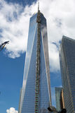 Costruzione del World Trade Center, New York Fotografia Stock
