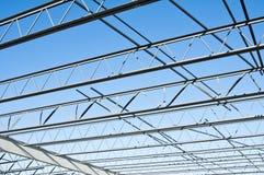 Costruzione dell'acciaio per costruzioni edili fotografia stock