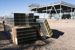 Costruzione dell'acciaio per costruzioni edili immagini stock