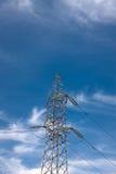 Costruzione dell'alimentazione elettrica Fotografia Stock Libera da Diritti