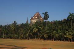 Costruzione dell'alta corte della città di Mumbai Fotografia Stock