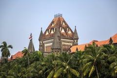 Costruzione dell'alta corte di Bombay in Mumbai, India Immagini Stock Libere da Diritti