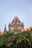 Costruzione dell'alta corte di Bombay in Mumbai, India Fotografia Stock