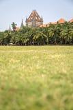Costruzione dell'alta corte di Bombay in Mumbai, India Immagine Stock Libera da Diritti