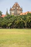 Costruzione dell'alta corte di Bombay in Mumbai, India Immagine Stock