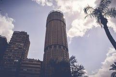 Costruzione dell'alta torre Fotografia Stock