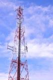 Costruzione dell'antenna Immagini Stock