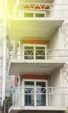 Costruzione dell'appartamento Immagine Stock
