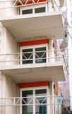 Costruzione dell'appartamento Fotografia Stock