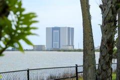 Costruzione dell'Assemblea del veicolo della NASA fotografia stock libera da diritti