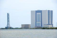 Costruzione dell'Assemblea del veicolo della NASA fotografia stock