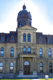 Costruzione dell'Assemblea di Legeslative a Fredericton N.B.: fotografia stock libera da diritti