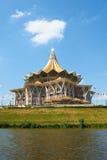 Costruzione dell'Assemblea legislativa della condizione del Sarawak (DUN) fotografia stock