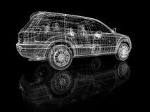 Costruzione dell'automobile Fotografia Stock Libera da Diritti