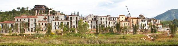 Costruzione dell'edificio. fotografia stock
