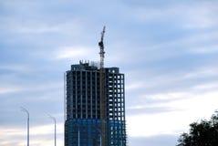 Costruzione dell'edificio per uffici fotografia stock